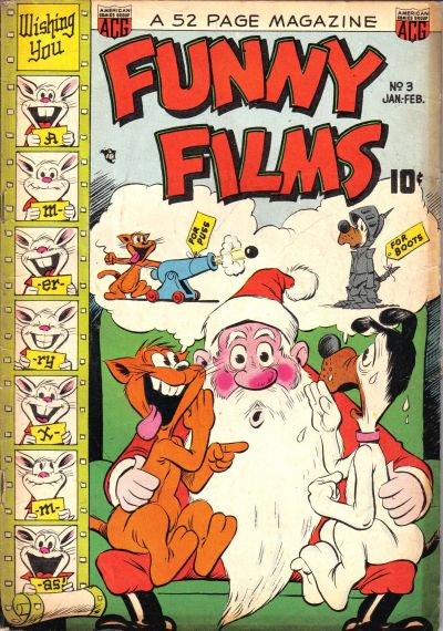Cover for Funny Films (American Comics Group, 1949 series) #3