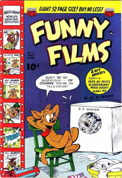 Cover for Funny Films (American Comics Group, 1949 series) #11