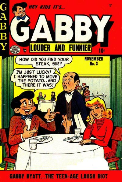 Cover for Gabby (1953 series) #3
