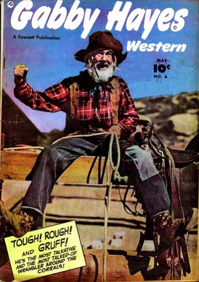 Cover for Gabby Hayes Western (Fawcett, 1948 series) #6