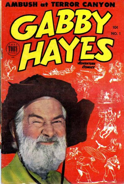 Cover for Gabby Hayes Western (Toby, 1953 series) #1