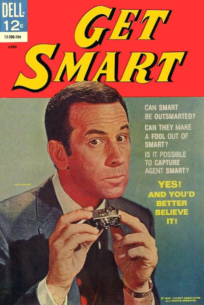 Cover for Get Smart (Dell, 1966 series) #6
