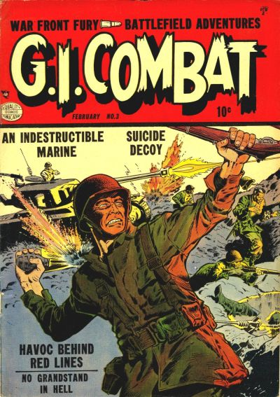 Cover for G.I. Combat (1952 series) #3
