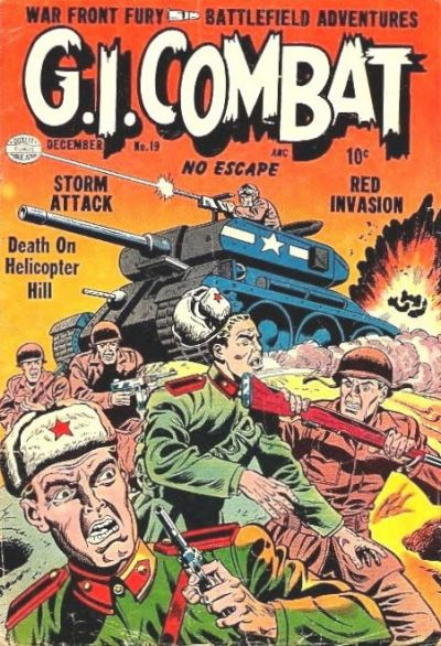 Cover for G.I. Combat (1952 series) #19
