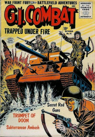 Cover for G.I. Combat (Quality Comics, 1952 series) #41