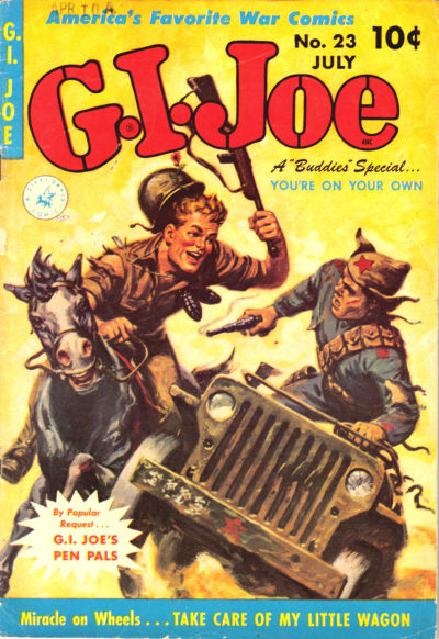 Cover for G.I. Joe (Ziff-Davis, 1951 series) #23