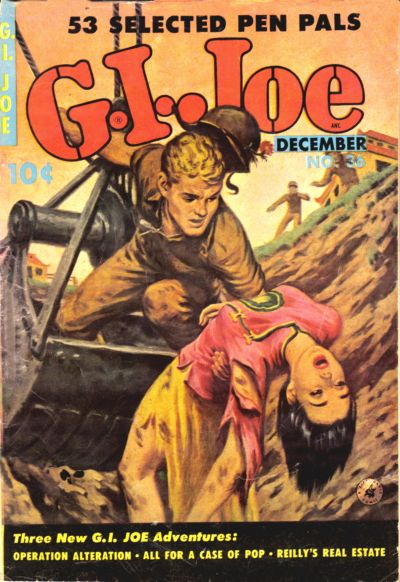Cover for G.I. Joe (Ziff-Davis, 1951 series) #36