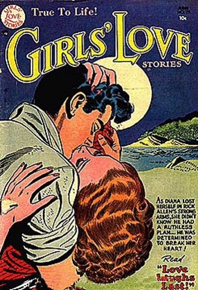 Cover for Girls' Love Stories (DC, 1949 series) #29