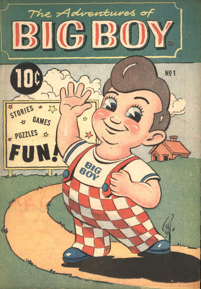 Cover for The Adventures of Big Boy (Marvel, 1956 series) #1 [West]