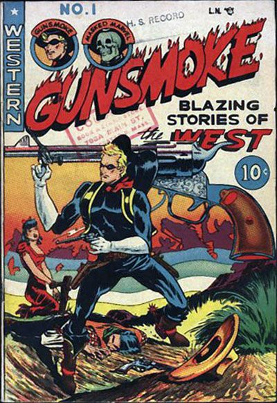 Cover for Gunsmoke (Youthful, 1949 series) #1