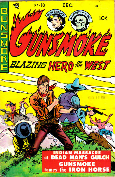 Cover for Gunsmoke (Youthful, 1949 series) #10