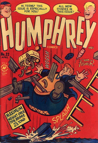 Cover for Humphrey Comics (Harvey, 1948 series) #22