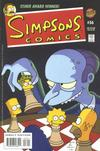 Cover for Simpsons Comics (Bongo, 1993 series) #56
