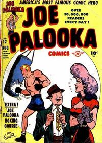 Cover for Joe Palooka Comics (1945 series) #12