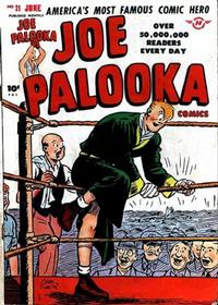 Cover Thumbnail for Joe Palooka Comics (Harvey, 1945 series) #21