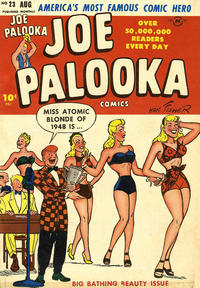 Cover Thumbnail for Joe Palooka Comics (Harvey, 1945 series) #23