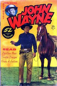 Cover Thumbnail for John Wayne Adventure Comics (Toby, 1949 series) #4