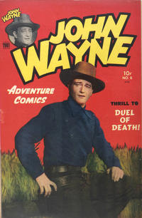 Cover Thumbnail for John Wayne Adventure Comics (Toby, 1949 series) #8