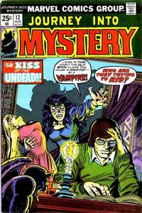 Cover for Journey into Mystery (1972 series) #12