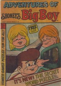Cover Thumbnail for Adventures of Big Boy (Paragon Products, 1976 series) #51