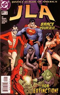 Cover Thumbnail for JLA (DC, 1997 series) #91