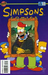 Cover Thumbnail for Simpsons Comics (Bongo, 1993 series) #23