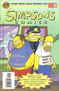 Cover Thumbnail for Simpsons Comics (Bongo, 1993 series) #39