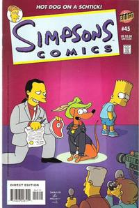 Cover Thumbnail for Simpsons Comics (Bongo, 1993 series) #45