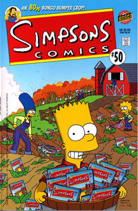 Cover Thumbnail for Simpsons Comics (Bongo, 1993 series) #50