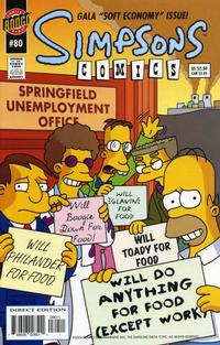 Cover Thumbnail for Simpsons Comics (Bongo, 1993 series) #80
