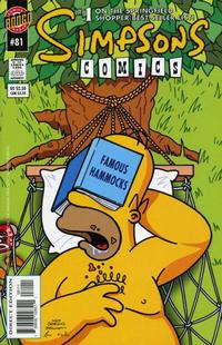 Cover Thumbnail for Simpsons Comics (Bongo, 1993 series) #81