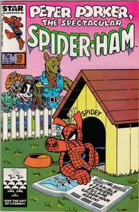 Cover Thumbnail for Peter Porker, the Spectacular Spider-Ham (Marvel, 1985 series) #10 [Direct Edition]