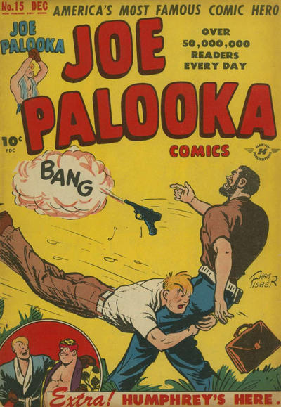 Cover for Joe Palooka Comics (Harvey, 1945 series) #15