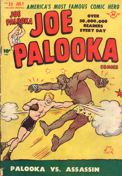 Cover for Joe Palooka Comics (1945 series) #22