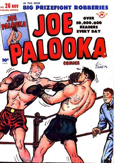 Cover for Joe Palooka Comics (Harvey, 1945 series) #26