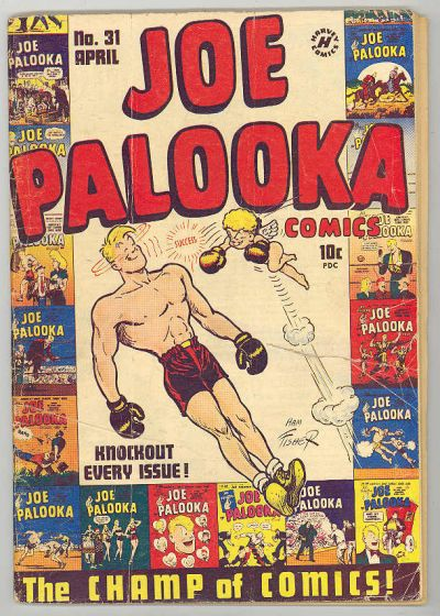 Cover for Joe Palooka Comics (Harvey, 1945 series) #31
