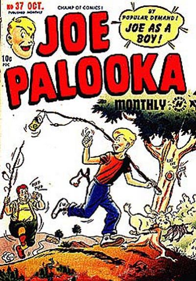 Cover for Joe Palooka Comics (Harvey, 1945 series) #37