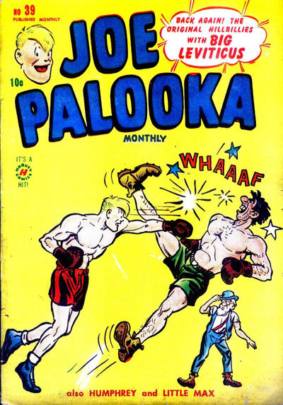Cover for Joe Palooka Comics (Harvey, 1945 series) #39