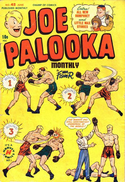 Cover for Joe Palooka Comics (Harvey, 1945 series) #45