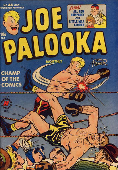 Cover for Joe Palooka Comics (Harvey, 1945 series) #46