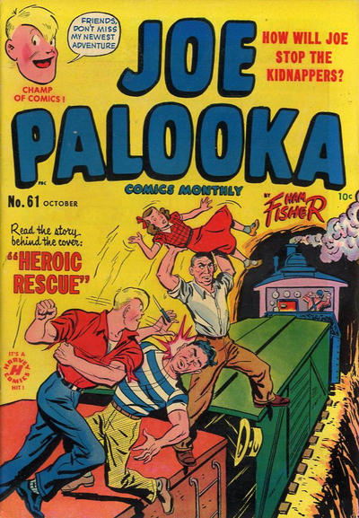 Cover for Joe Palooka Comics (1945 series) #61