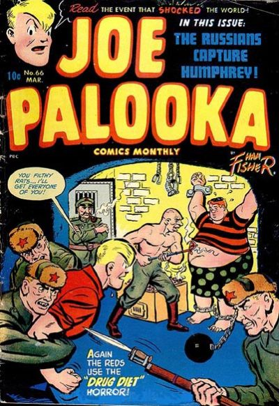Cover for Joe Palooka Comics (Harvey, 1945 series) #66