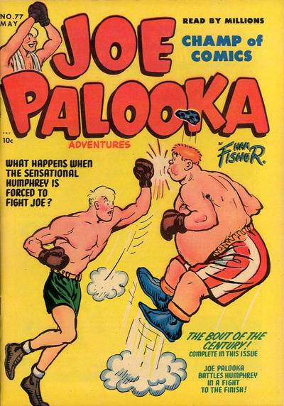Cover for Joe Palooka Comics (Harvey, 1945 series) #77