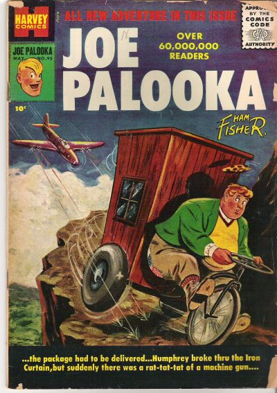 Cover for Joe Palooka Comics (Harvey, 1945 series) #95