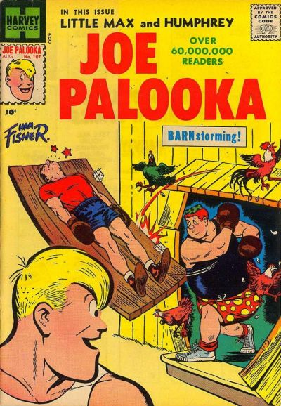 Cover for Joe Palooka Comics (Harvey, 1945 series) #107