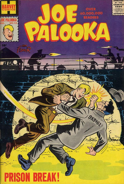 Cover for Joe Palooka Comics (Harvey, 1945 series) #113