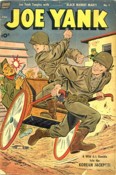 Cover for Joe Yank (Standard, 1952 series) #5