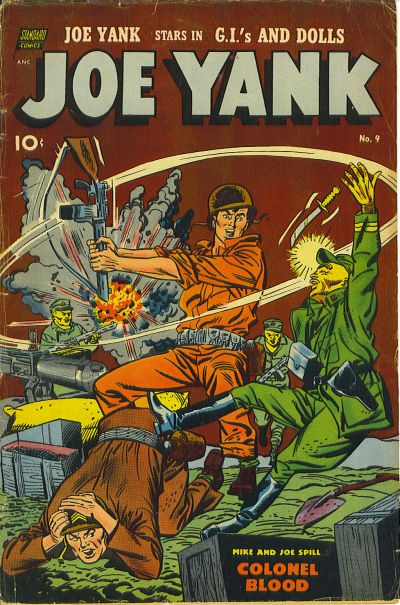 Cover for Joe Yank (Standard, 1952 series) #9