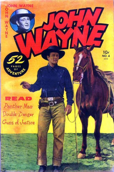 Cover for John Wayne Adventure Comics (1949 series) #4