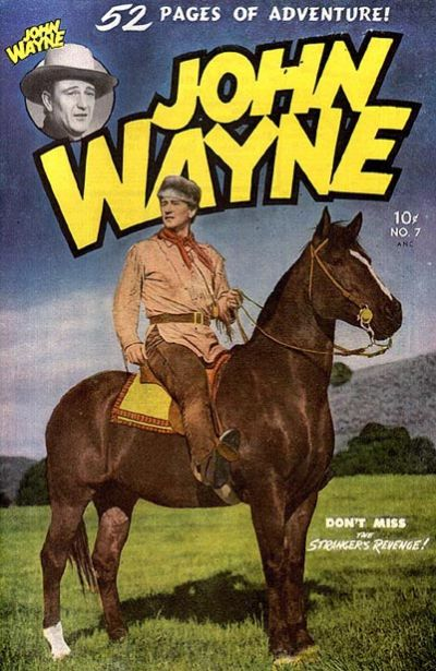 Cover for John Wayne Adventure Comics (Toby, 1949 series) #7